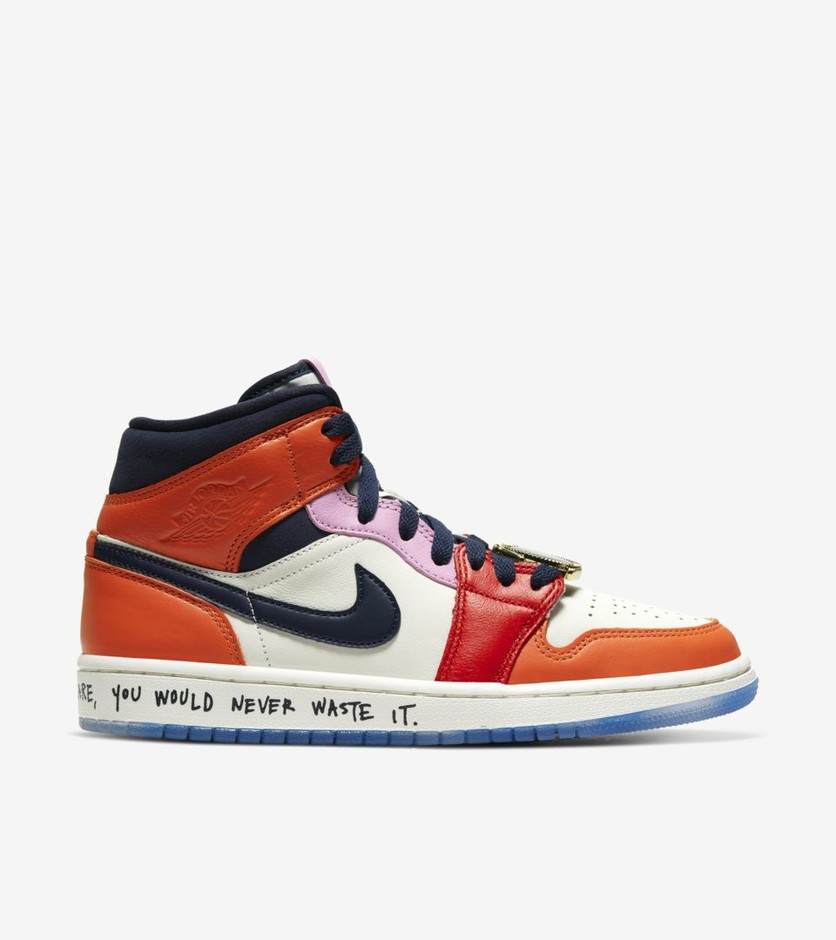Air Jordan I Mid Fearless 'Melody Ehsani' Release Date. Nike SNKRS