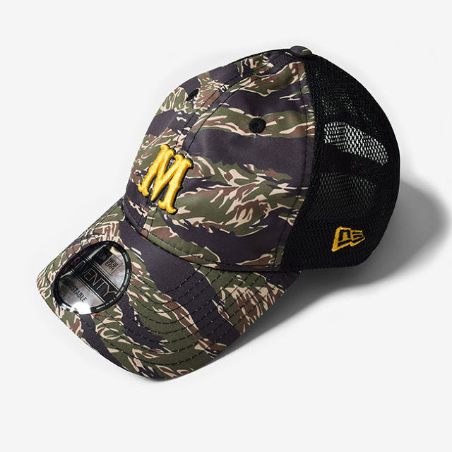 MMA×New ERA® Trucker Hat (Tiger Camo) | CITY&TRAILS General Store