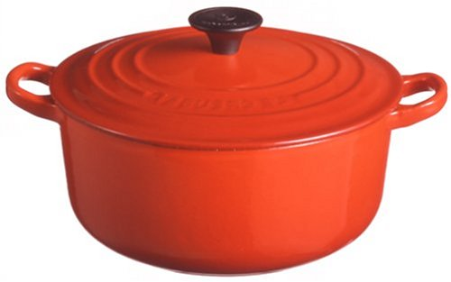 Amazon.co.jp: Le Creuset ココット・ロンド 16cm チェリーレッド: ホーム&キッチン