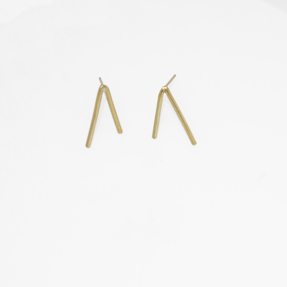 another feather — Dart Earrings