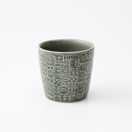 BIRDS' WORDS PATTERNED CUP: キッチン/テーブルウェア - IDEE SHOP Online