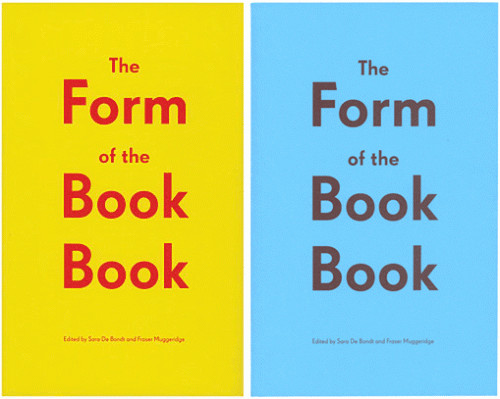 Occasional Papers » The Form of the Book Book