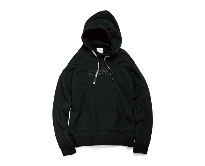 uniform experiment | PRODUCT | EMBROIDERY LOGO PULL OVER HOODY