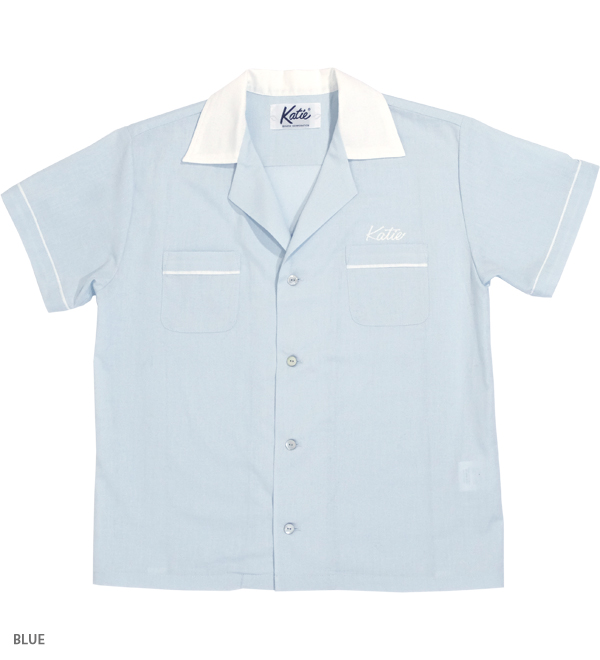 """KATIE """"O"""" bowling shirt - Katie Official Web Store"""