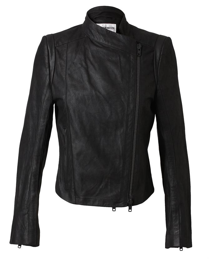 Browns fashion & designer clothes & clothing | ANN DEMEULEMEESTER | Distressed Leather Jacket