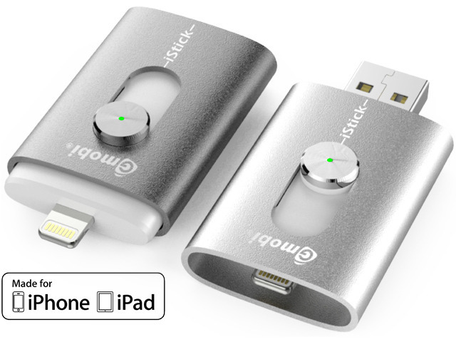 iStick™: USB Flash Drive with Lightning for iPhone and iPad — Kickstarter
