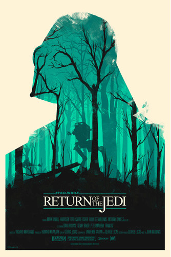 Star Wars: Return of the Jedi - Olly Moss