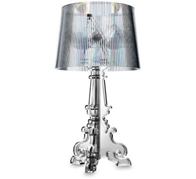 Ferruccio laviani bourgie lamp clear sumally for Ferruccio laviani bourgie lamp