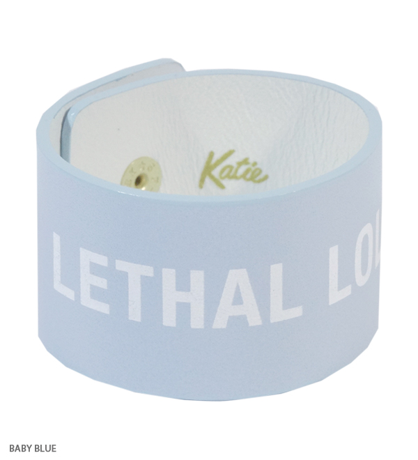 ACCESSORIES - LETHAL LOLITA wrist band - Katie Official Web Store - Katie Official Web Store