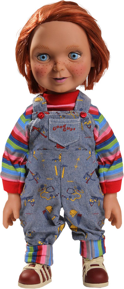 Childs Play Good Guys Chucky Talking Doll Collectible Figure | Sideshow Collectibles
