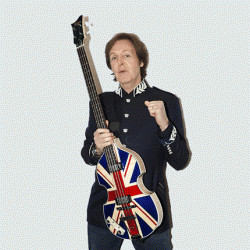 Hofner Paul McCartney Limited Edition Jubilee Union Jack Bass CamdenSounds.co.uk