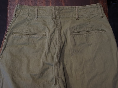 ReCollect: 40's U.S.Navy HBT Trousers/U.S.Army M-42 HBT Trousers