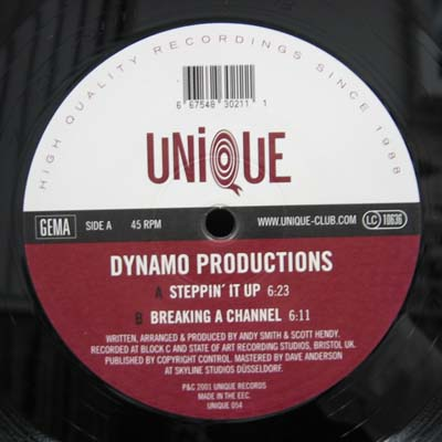DYNAMO PRODUCTIONS / STEPPIN' IT UP UNIQUE 12inch Vinyl record 中古レコード通販