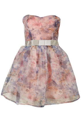 Floral Organza Prom Dress By Dress Up Topshop** - Sale - Topshop