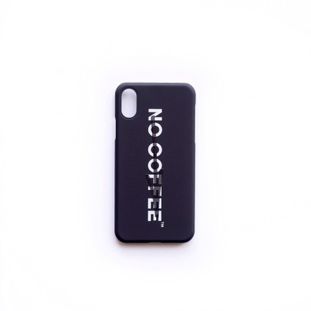 NO COFFEE × MOGNO6. iPhone X Case (GRAY)