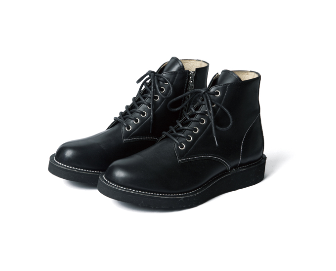 SOPHNET. | PRODUCT | 7 HOLE ZIP UP BOOTS