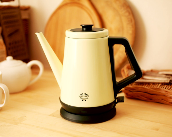 Amazon.co.jp: Classic Kettle recolte RCK-1(W) 6900312: ホーム&キッチン