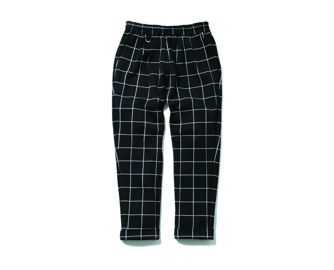 uniform experiment | PRODUCT | WINDOW PANE 4 TUCK ANKLE CUT EASY PANT
