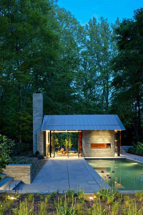 Pavilion Style House: Chimney + Roof Alliance | Busyboo Design Blog