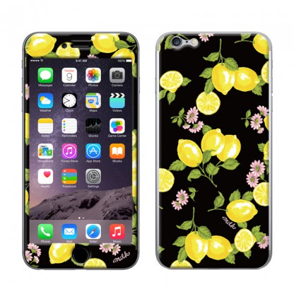 MILK(ミルク)×Gizmobies LEMON LIME iPhone6ケース iPhone6,iPhone6 plus,iPhone5,iPhone5s のプロテクターケース(シールカバー)