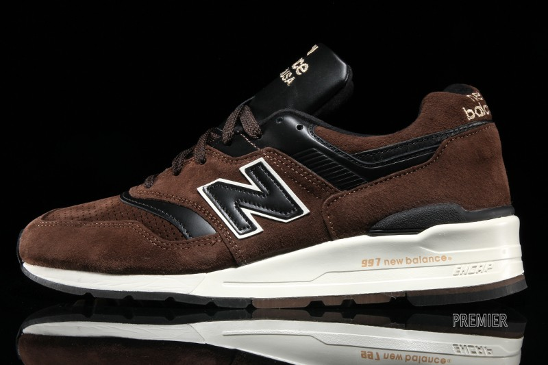 """New Balance - New Balance 997 """"Authors Collection"""" – Brown – Black . 4a92a2a420"""
