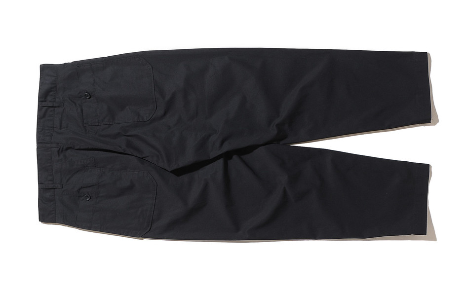 Carlyle Pant-High Count Twill-Black