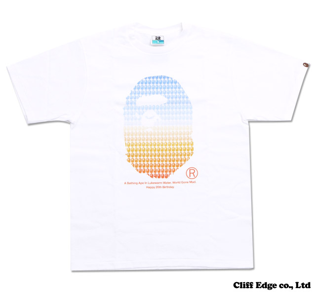 【楽天市場】A BATHING APE NW20 Exhibition TEE [Tシャツ] Designed by TAKASHI KUMAGAI [熊谷 隆志] WHITE 200-005365-030+【新品】【smtb-TD】【yokohama】:Cliff Edge
