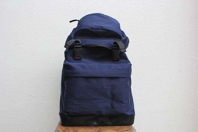 commono reproducts(コモノリプロダクツ) back pack(konbu nylon×tochigi leather) GROOVY