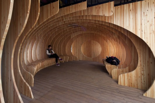 Rest Hole in the University of Seoul / UTAA   ArchDaily