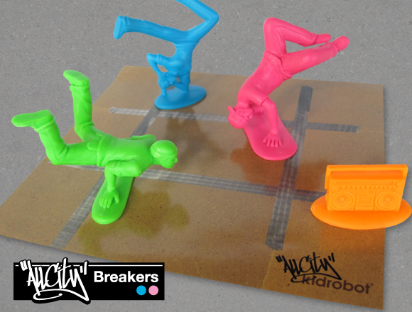 Product Preview – All City Breakers Mini Series:: Kidrobot's Blog, The KRonikle