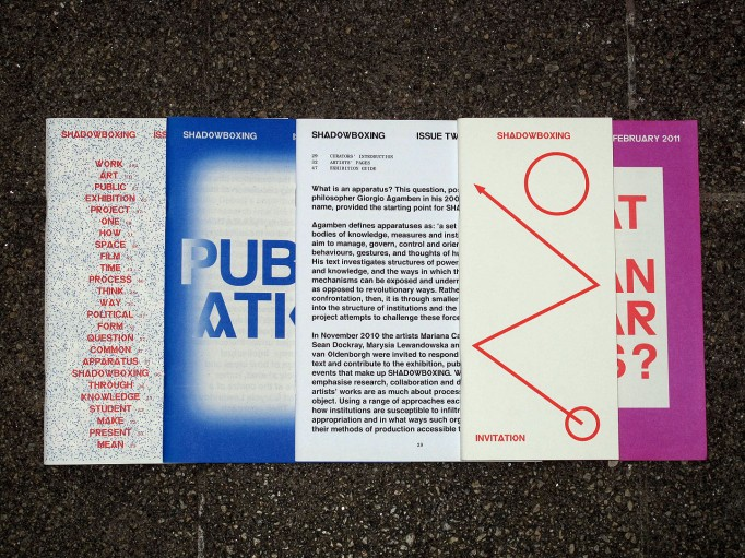 MOTTO DISTRIBUTION » Blog Archive » Shadowboxing. Royal College of Art