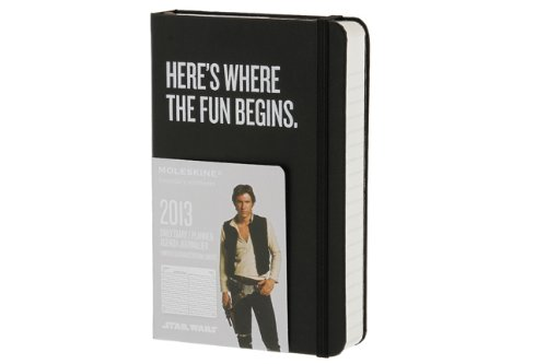 Amazon.co.jp: Moleskine 2013 12 Month Star Wars Limited Edition Daily Planner Black Hard Cover Pocket (Moleskine Legendary Notebooks (Calendars)): Moleskine: 洋書