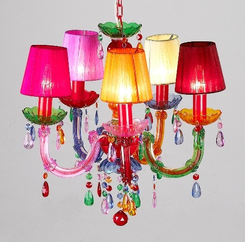 Colorfly / chandelier
