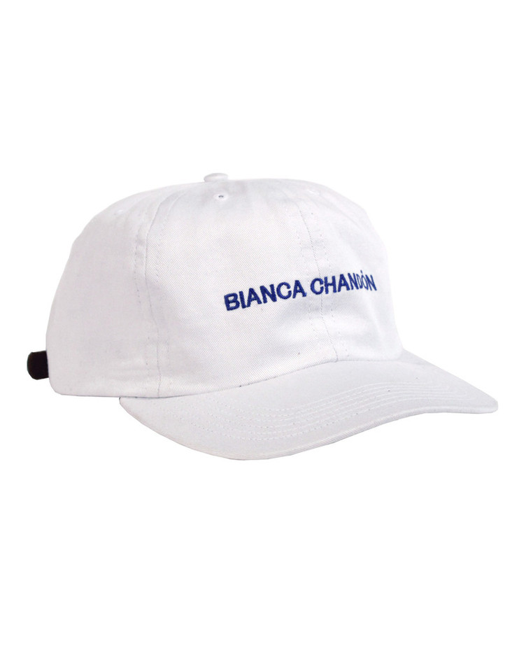 Logotype Embroidered Hat – Bianca Chandon
