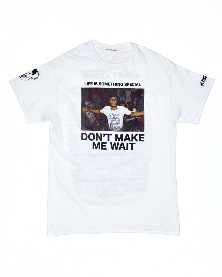 Larry Levan Photo T-Shirt – Bianca Chandon