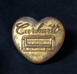 "Others - 1930's "" ♡ Carhartt"" Advertising Key Ring - FUNNY SUPPLY □ Antiques ■"
