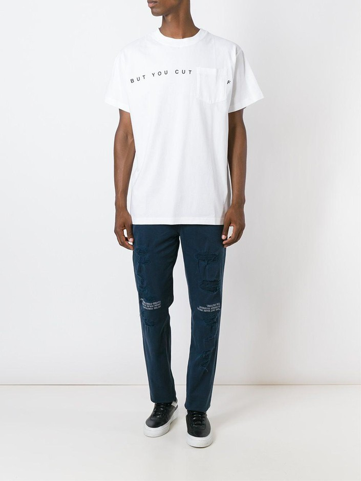 Off-white But You Cut Tシャツ - Thexit - Farfetch.com