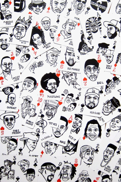 MYNORITY CLASSICS - Hip Hop トランプ, MYC, Sayori Wada, Playing Cards, Mynority Classics, Accessory, Toys
