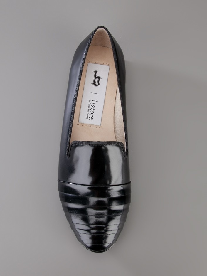 Women - Sale Items Only - B Store Flat Leather Loafer - b Store London