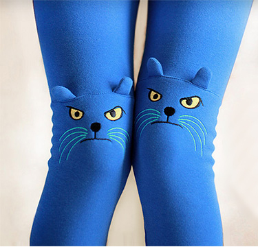 2013 New Winter Spring Autumn Cute Cat Kitten Leggings Fashion Stretch Pants Animal Pencil Bone Sexy Skinny Warm Plus Size-in Pants & Capris from Apparel & Accessories on Aliexpress.com