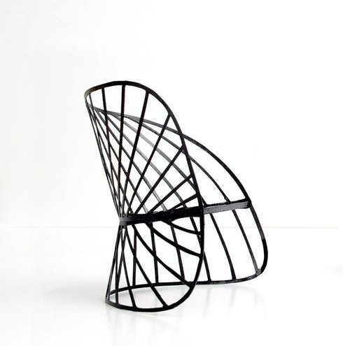 Constance Guisset for Molteni & C: MO Lamp & SOL Rocking Chair « designgush