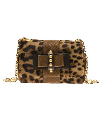 Browns fashion & designer clothes & clothing | CHRISTIAN LOUBOUTIN | 'Sweet Charity' mini calf-skin shoulder bag