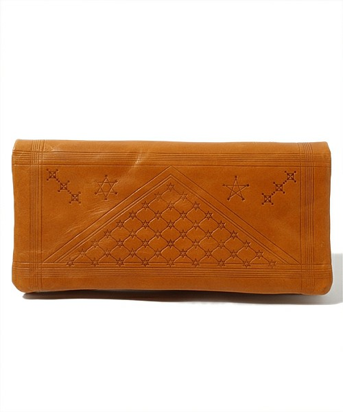 "Astral Plains ACCESSORIES / VEGETABLE TANNED LEATHER WALLET - ""Astral Plains"" VERSION(財布) - ZOZOTOWN"