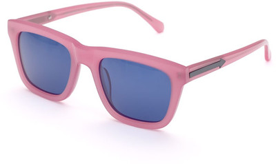 Karen Walker Deep Freeze Sunglasses in Milky Pink - Polyvore
