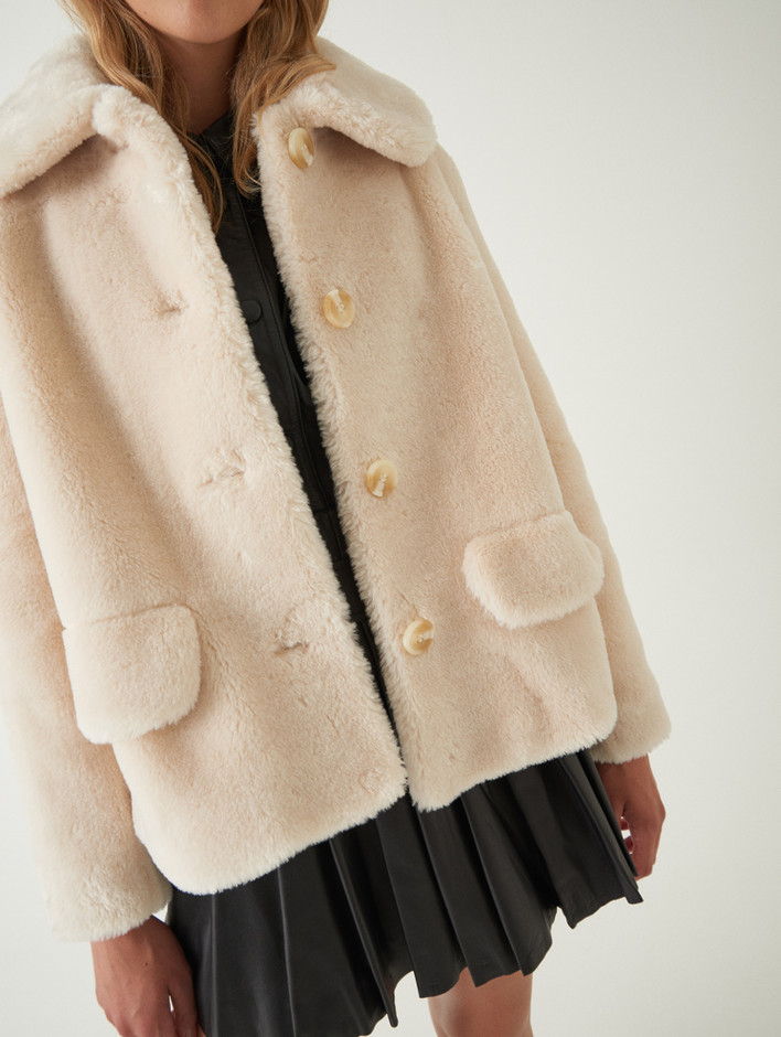 Noemie Jacket Offwhite | STAND Official