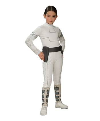 White Padme Amidala Dress-Up Set - Girls | Daily deals for moms, babies and kids
