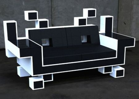 igor chak space invader couch sumally. Black Bedroom Furniture Sets. Home Design Ideas