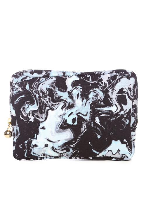 MOTHER / M.L.S CLUTCH BAG / BLUE BASE - WILD STYLE