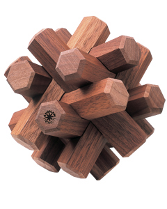 LANDSCAPE PRODUCTS BRAID WOOD WALNUT 12p » Playmountain : Landscape Products Co.,ltd.