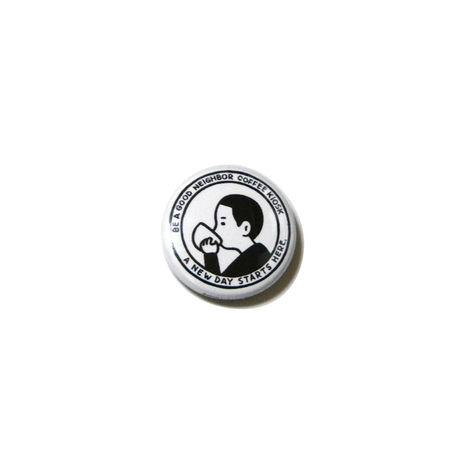 BE A GOOD NEIGHBOR badge | N store